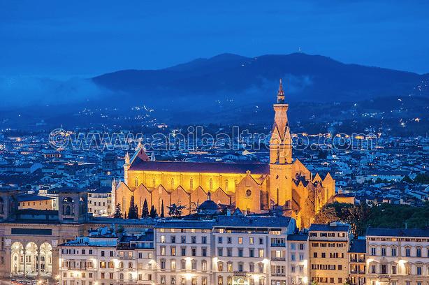 Fotografías de la Basilica de Santa Croce por Anibal Trejo