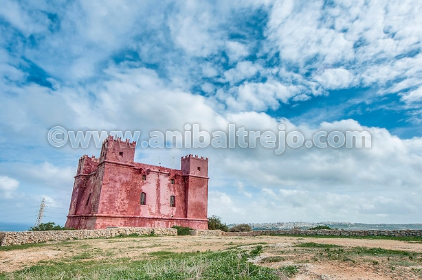 St. Agatha's Tower in Malta