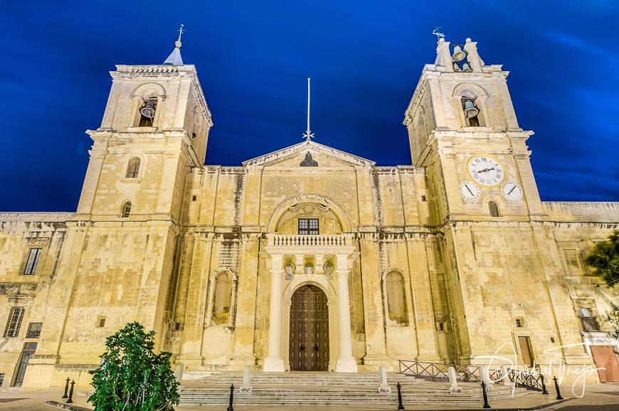 La Concatedral de San Juan, Malta