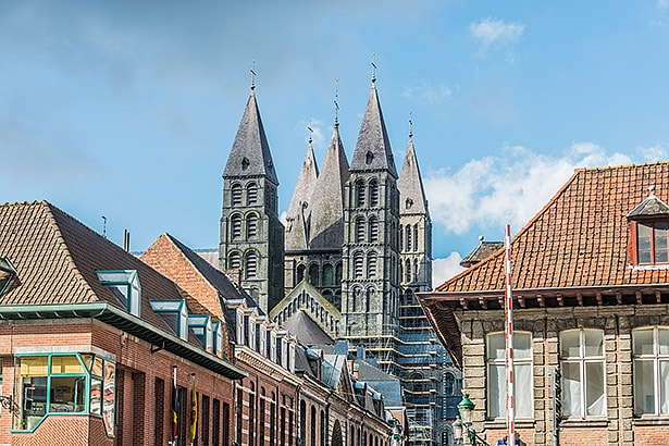 Cathedral of Our Lady of Tournai in Belgium