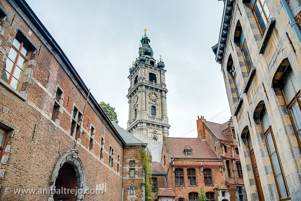 Belfry of Mons in Belgium.
