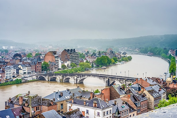 Meuse River in Namur, Belgium