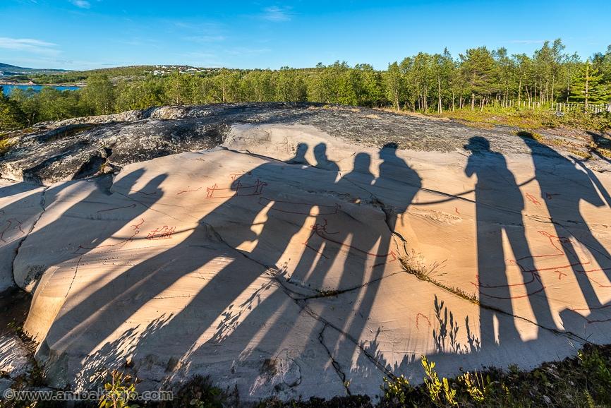 The World Heritage Rock Art Centre Alta Museum in Laponia Noruega