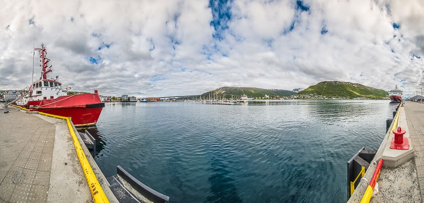 Port of Tromso, Norway