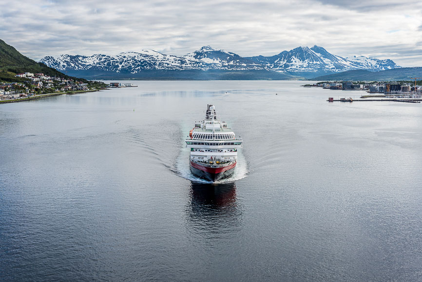 Hurtigruten shipping service in Norway.