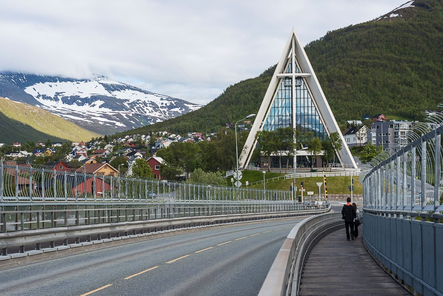 The Arctic Cathedral in Tromso, Norway
