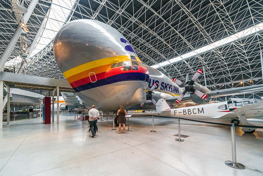 Aeroscopia Museum, near Toulouse, southern France