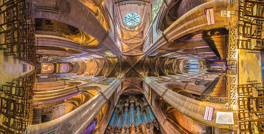 Catedral de Notre-Dame en Rodez, Francia