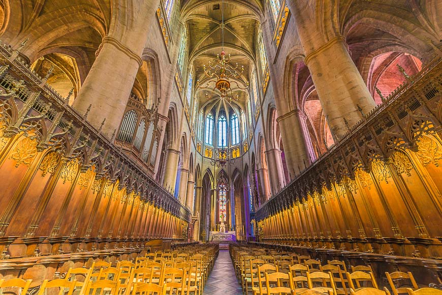 Cathedrale Notre-Dame in Rodez, France