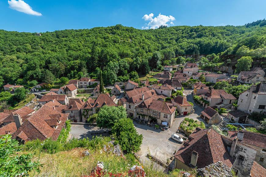Saint Cirq Lapopie in Lot, France