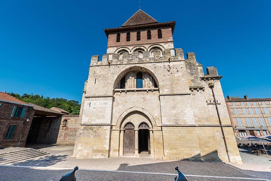 Saint Pierre Abbey  in Moissac, France