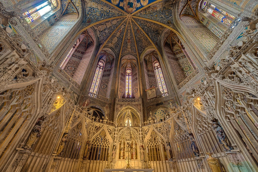 Cathedral Basilica of Saint Cecilia, in Albi, France