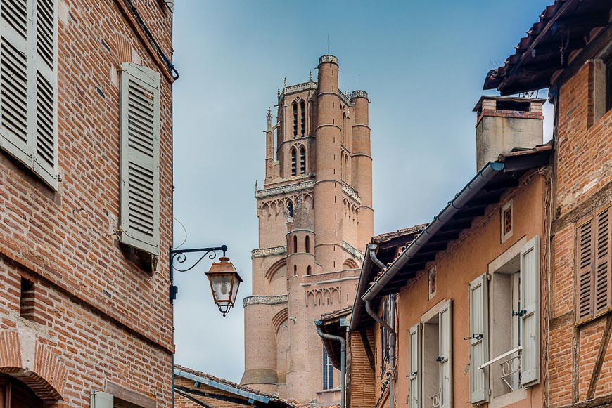 Cathedral Basilica of Saint Cecilia, in Albi, France