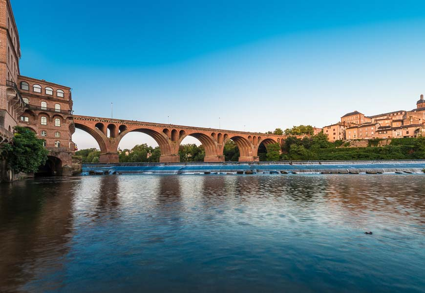 Old bridge in Albi, France