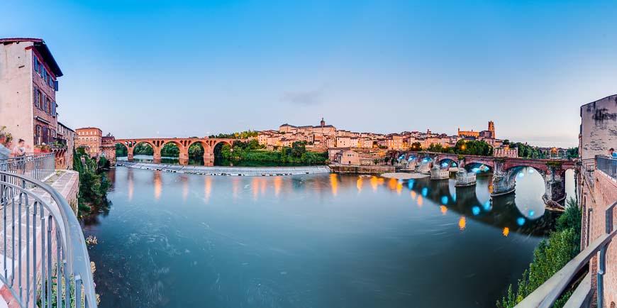 Tarn River in Albi, France