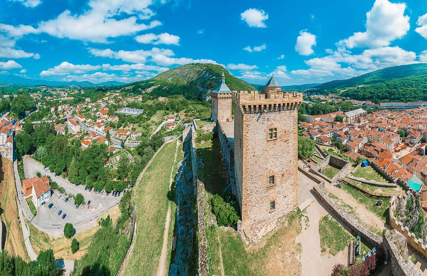 Chateau de Foix castle, France