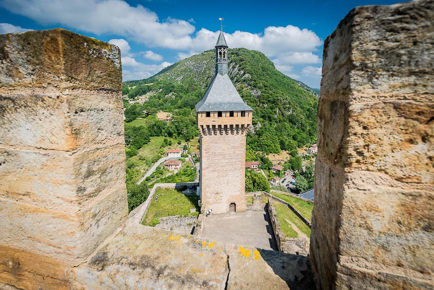 Chateau de Foix castle , France