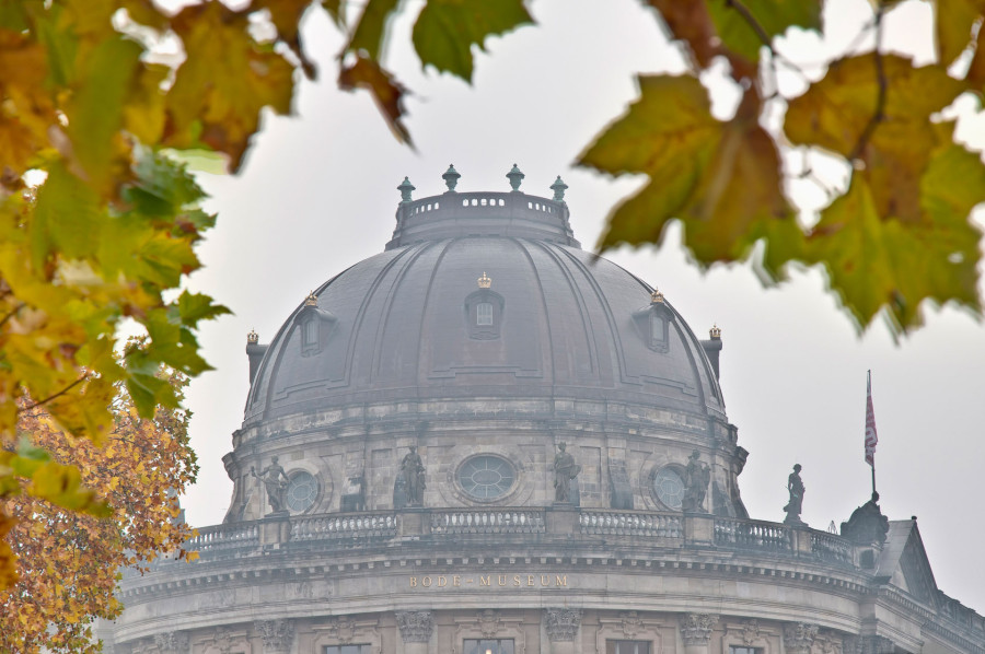 Bode Museum located on Berlin, Germany